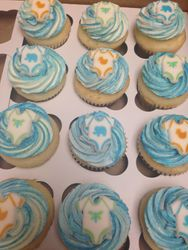 Its a Boy Baby Shower Cupcakes
