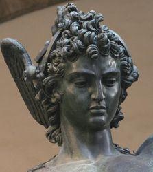 Cellini, Perseua and Medusa, detail