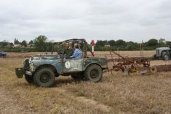 LandRover and plough