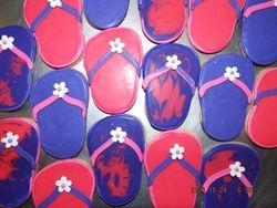flip flop cookies $3.75 each