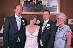 Brides Mum and Dad .