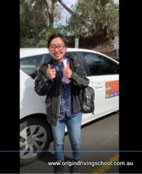 Burwood East VicRoads Pass First Time !! Well Done Chintia Wijaya