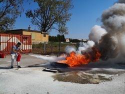 Brandschutzhelferausbilung der Firma Amazon Logistik Zentrum am 12.09.2019