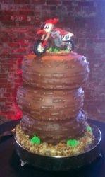 Dirt Bike Groom's Cake