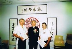 Kevin Earle, Chu Shong Tin, Beau Bouzaid