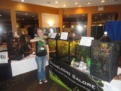 Edmonton Spring reptile show 2011