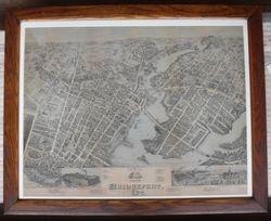 Bird's Eye View of Bridgeport