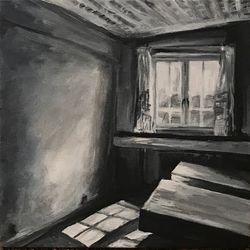 Lys gennem vinduet