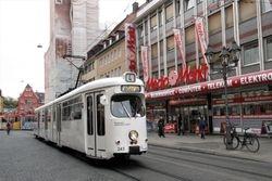 Duewag #243 on Domstrasse