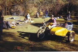 2003 the yellow terror is now in a museum at Nabiac
