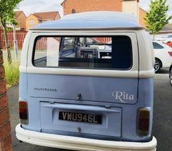 Rita, before.