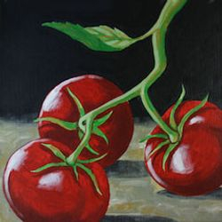 """""""Tomatoes in Still Life"""""""