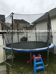 skywalker trampoline removal service in Bowie MD