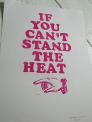 'If You Can't Stand the Heat' poster