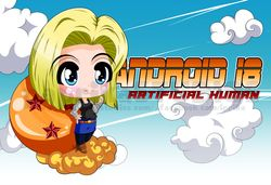 Chibi Android 18