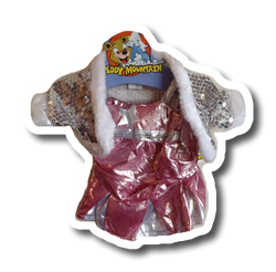 Glitter dancing dress