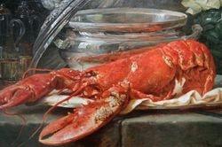 Vallayer-Coster, Still-Life with Lobster, Toledo