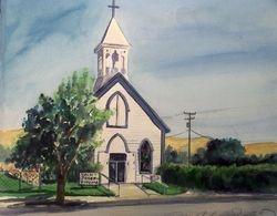 St. Joseph's Catholic Church (Original Oil)