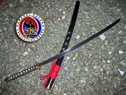 Custom Made Spring Steel Musashi Katana