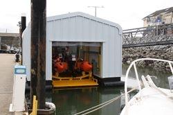 ILB floating boathouse