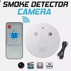 Smoke detector hidden camera!!