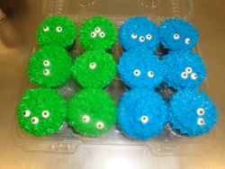 Monster cupcakes $3 each