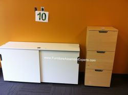ikea galant file cabinet installation service in reston VA