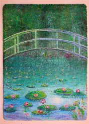 Water Lilies and Oregon Bridge