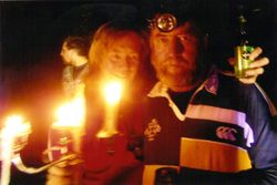2007 Marg & Dave Barlow with their Candelabra