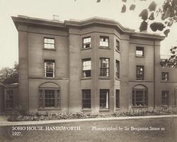 Soho House. c1927.