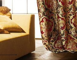 Jacquard Damask Drapes and Curtains With Grommet(54W X 96L)