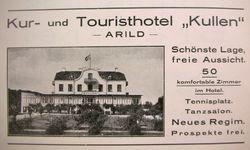 Turisthotellet Kullen 1926