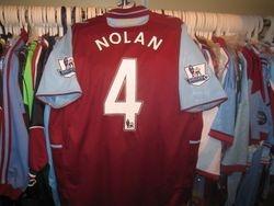 Kevin Nolan's Bobby Moore anniversary shirt