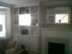 Custom Built-in Wall unit