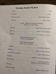 Pastor Rountree Guest Speaker