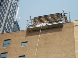 Penthouse repair