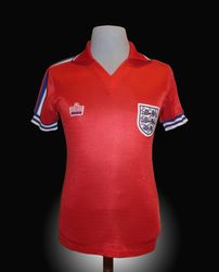 Admiral Match Worn England Steve Coppell shirt 1981