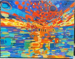 Sunset Spectacular SOLD