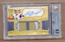 2010 Supreme SAM BRADFORD RC AUTO 2-CLR PATCH 1/1