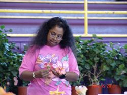Lata from Red Stick Hibiscus Association chapter