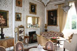 Sitting room in Cabra Castle Hotel, Kingscourt
