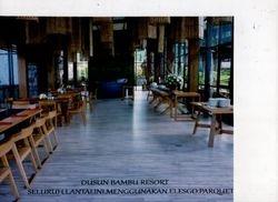 Restaurant Dusun Bambu Resort Bandung
