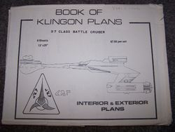 Book of Klingon Plans - by Michael McMaster.