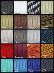 Paracord colour chart