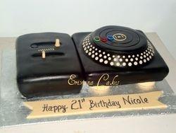 Dj Set Cake(SP039)