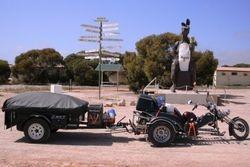 Trike & Trailer at ROO11 at Border Village