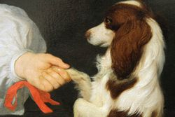 Ludolph de Jongh, Boy with a Dog, 1661
