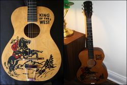 """King of the West"" Mountie Guitar!"