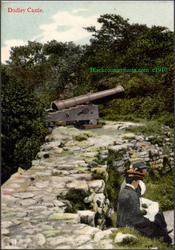 Dudley Castles Cannon. c1910.