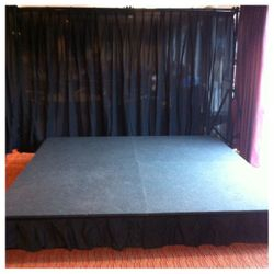 Stage & Backdrop Hire